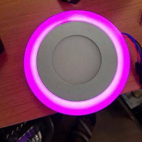 đèn led âm trần 6w 3 chế độ màu giá sỉ
