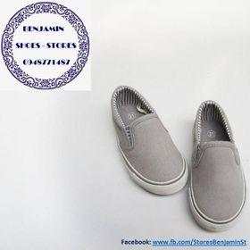 Giày trẻ em hiệu Obaibi Okaidi xuất Đức - giày lười xám giá sỉ