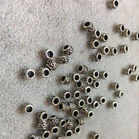5 Charm Chặn hạt 4 ly bạc thái - MSP 533 giá sỉ