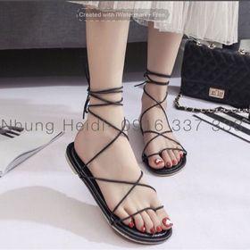 Giày sandal cột dây giá sỉ
