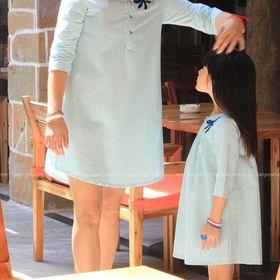 Đồ đôi Mẹ Và Bé vải Cotton