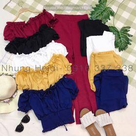 Set bộ áo quần culotte giá sỉ