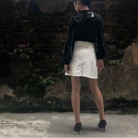 chân váy áo sơ mi