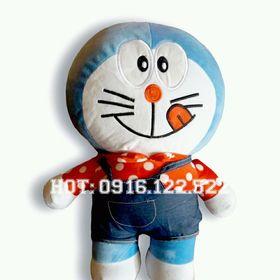 Gấu Bông Doremon Áo 45cm siêu mềm giá rẻ sài gòn