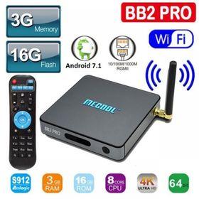TV Box Mecool BB2 Pro 3g ddram4 S912 giá sỉ