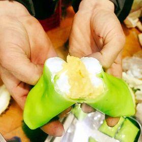Bánh crepe sầu riêng ăn là nghiền giá sỉ