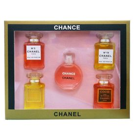 Set nước hoa Chanels 5 chai mini giá sỉ