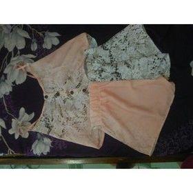 Bộ quần áo nữ 2 dây mặc nhà size rộng cho người béo bộ ngủ ngắn ảnh tự chụp giá sỉ
