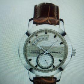 Đồng hồ nam dây da Liadu 1001 hai màu giá sỉ giá bán buôn