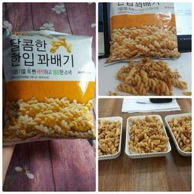 Bánh Quẩy Xoắn Hàn Quốc 280g giá sỉ