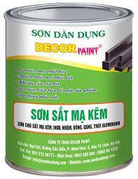 Sơn lên tấm Alu Mica Nhôm hãng Decorpaint màu kem DCP - 021 giá sỉ