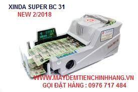 máy đếm tiền xinda super bc 31 giá sỉ