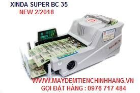 máy đếm tiền xinda super bc 35 giá sỉ