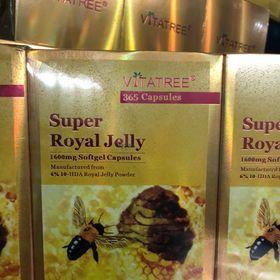 Sữa ong chúa 1600mg Vitatree giá sỉ