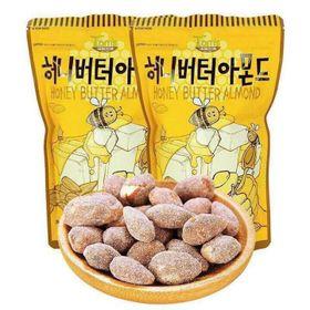 Hạnh nhân sấy mật ong Hàn Quốc 200g Giá bán buôn bán sỉ giá sỉ
