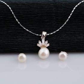 Bộ trang sức bạc Ngọc Trai giá sỉ