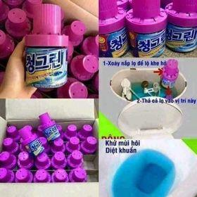 Lọ thả bồn cầu Hàn Quốc hương Lavender giá sỉ