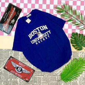 áo thun unisex in cún boston giá sỉ