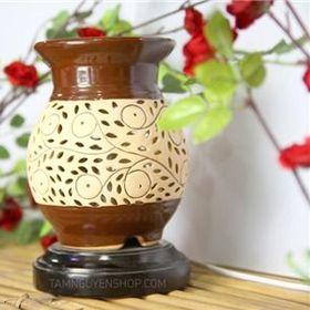 Ðèn xông tinh dầu gốm T0145 giá sỉ