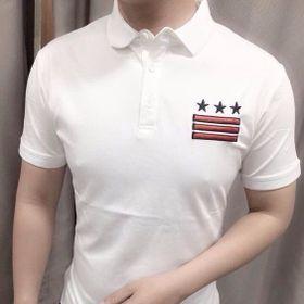 Áo thun nam màu trắng giá sỉ