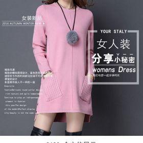 Đầm xuông len giá sỉ