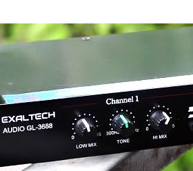Nâng tiếng Karaoke Exaltech audio GL 3688 made in Việt Nam giá sỉ