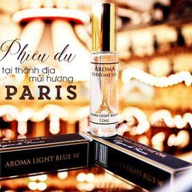 Tinh dầu nước hoa Aroma Pháp dạng lăn 12ml giá sỉ