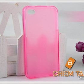Ốp silicone mờ iPhone 4 / iPhone 4S giá sỉ