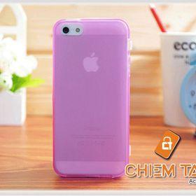 Bao silicone TPU trong suốt iPhone 5 / iPhone 5S giá sỉ