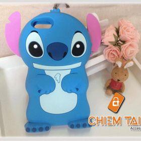 Ốp silicone chú gấu Stitch iPhone 5 / iPhone 5s giá sỉ
