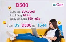 Sim EZ D500 giá sỉ