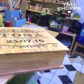 Hộp gỗ đựng Album ảnh cưới giá sỉ