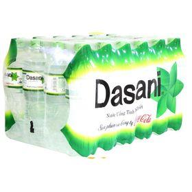 Thùng nước tinh khiết Dasani chai 500ml 24 chai