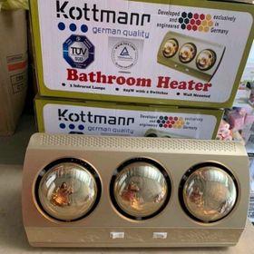 Đèn sưởi Kottmann 3 bóng giá sỉ