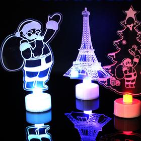 combo 2 Đèn Led 3D Noel giá sỉ