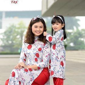 Áo dài cho mẹ và bé
