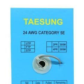 Cáp mạng FTP CAT5E đồng dầu chống ẩm Taesung giá sỉ
