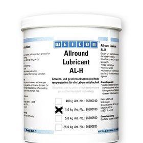 Mỡ bôi trơn chịu nhiệt kỹ thuật cao ngành thực phẩm WEICON Allround Lubricant AL-H yellowish-white 1kg giá sỉ