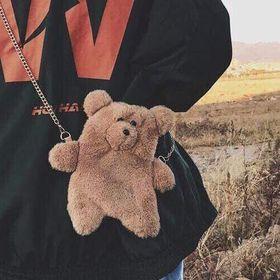 tui gấu lông siêu cute giá sỉ