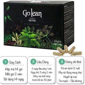 Trà giảm cân thảo mộc Golean detox
