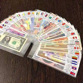 Bộ Tiền 28 Nước Trên Thế Giới Lì Xì Tết 2019 giá sỉ