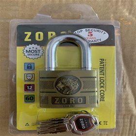 Ổ khóa Zoro đầu Báo 6 phân 4 chìa giá sỉ