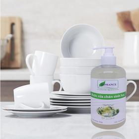 Nước rửa chén sinh học ROMANCE 500g - Nguyên liệu có nguồn gốc từ thực vật giá sỉ