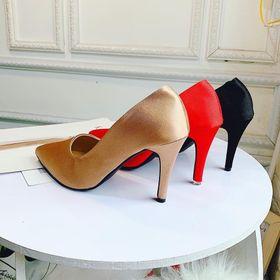 giày cao gót lụa giá sỉ