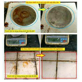 nước tẩy rửa đa năng bếp ga tường bẩn rỉ sét rong rêu xe máy bồn cầu giá sỉ