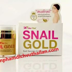 Kem Ốc Sên Snail Gold Mai Thái dưỡng da trị nám