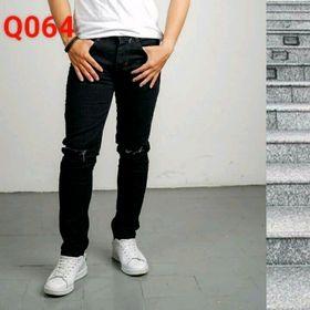 Quần jeans rách gối co giãn giá sỉ