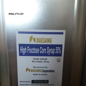 Đại Lý buôn sỉ High Fructose Corn Syrup 55 -HFCS sirô bắp giá sỉ
