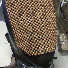 Đệm yên hạt gỗ lắp yên xe máy giá sỉ