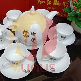 Bộ tách trà in logo công ty - Munus - Quà Tặng Đẳng Cấp giá sỉ